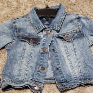 Oshkosh genuine kids denim stretchy Jacket